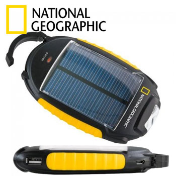Incarcator Solar de ghiozdan 4 in 1 National Geographic