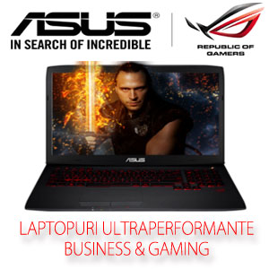 Laptop Performant Gaming Asus ROG G751JT-T7210D