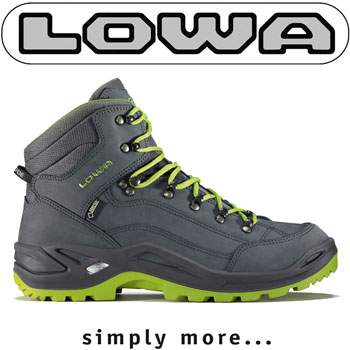 Ghete si Bocanci barbatesti LOWA RENEGADE GTX MID made in Germany