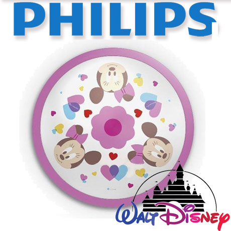Aplica perete camera copii, Philips, Disney, Minnie, LED
