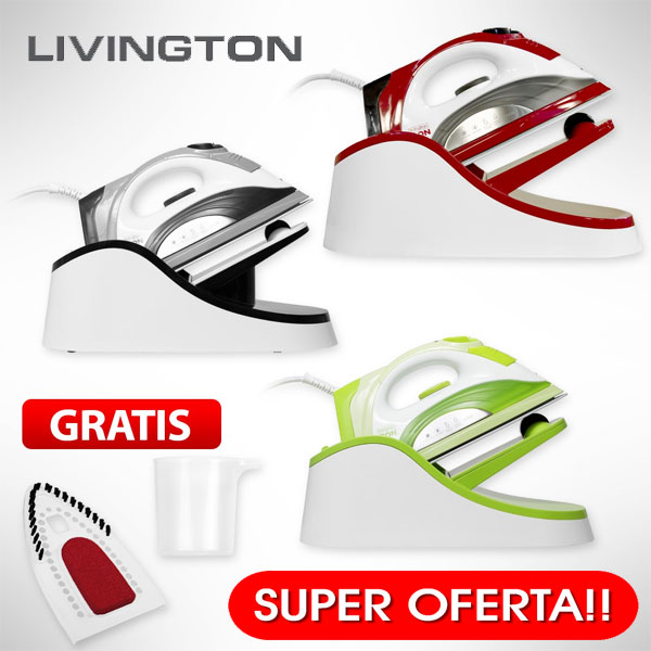 Fierul de calcat fara fir LIVINGTON IRON Oferta Mediashop Teleshopping