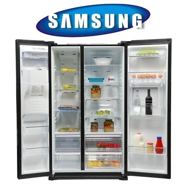 Frigidere Side by Side Samsung Side by side Samsung RS7778FHCBC, 543 l, Clasa A++, Full No Frost