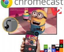 [REVIEW] Device-ul Google Chromecast V2, mai ieftin, mai rapid, mai smart