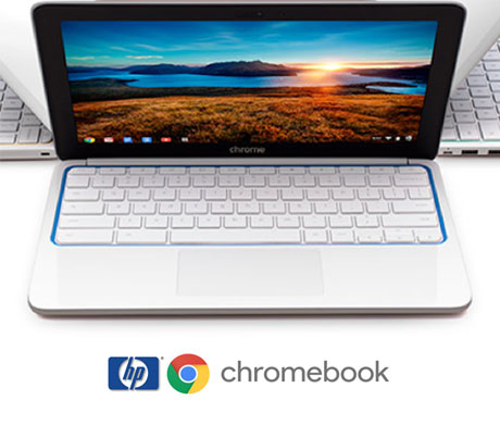 Review mini Laptop Chromebook HP