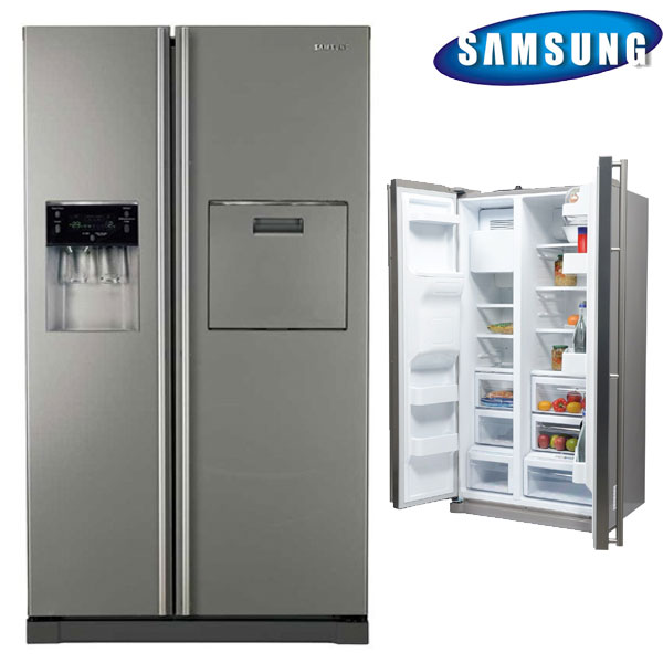 Review Frigider Side by side Samsung RSA1ZTSL1, 484 l, Clasa A+, Full No Frost, H 178.9 cm, Inox