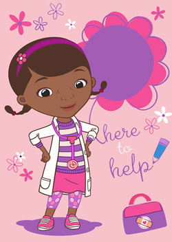 Covor Doctorita Plusica Doc Mc Stuffins to help