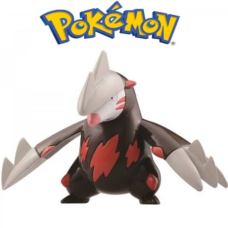 2 figurine Pokemon Excadrill vs. Darmanitan