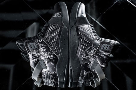 Reflections Supra Skytop Sneakers Decade X