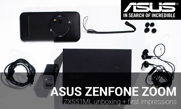 Telefon Mobil Asus Zenfone Zoom ZX551ML 64GB 4G Black zx551ml-64gb