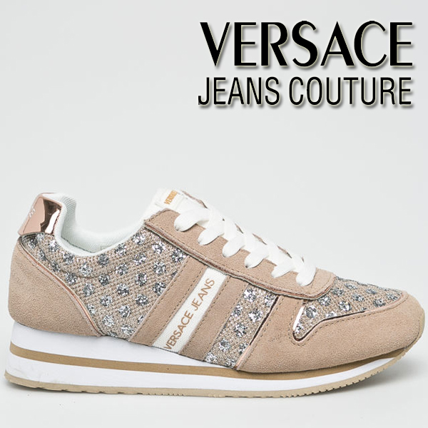 Adidasi roz dama Versace Jeans Couture