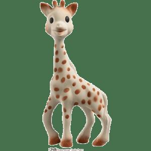 Jucarie girafa cauciuc natural Vulli