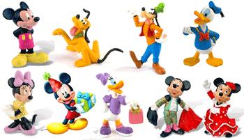 Mai multe figurine cu personajele din Clubul lui Mickey Mouse, puteti cumpara online