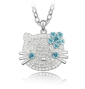 Colier Hello Kitty cu cristale Swarowski