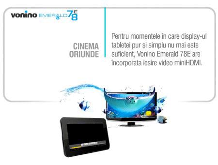 Conectarea Tabletei Vonino la televizor prin minHDMI