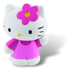 Jucarii figurine Hello Kitty - Pisicuta roz draguta