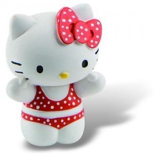 Jucarii figurine Hello Kitty - Pisicuta roz cea cocheta