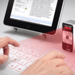 Tastatura laser virtuala