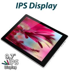 Ecranul de 10 inci, touchscreen, tehnologie IPS LCD si G-Sensor, ultraslim