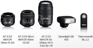 Accesorii Aparat foto digital D-SLR Nikon 3200