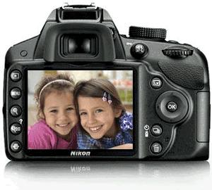 Aparat foto D-SLR Nikon 3200 24,2megapixeli Full HD