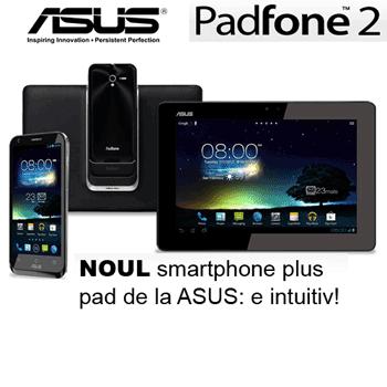 Asus Padfone 2 (smartphone + tableta)