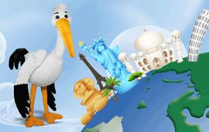 De unde cumperi Barza Henry - personaj din desenele animate cu Vipo Catelusul Zburator