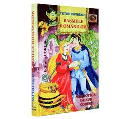 Basmele Romanilor - povesti pentru copii de Petre Ispirescu carti si cd audio