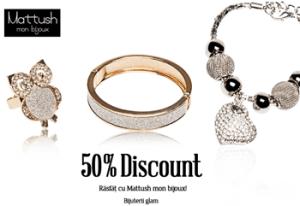 Reduceri si promotii bijuterii Mon Bijoux Matush
