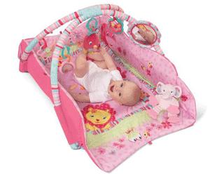 Salteluta interactiva pentru bebelusi: sunete, lumini