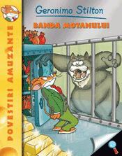 Carti amuzante pentru copii 6-12 ani: Geronimo Stilton, soricelul vorbarest din desenele animate