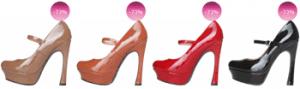 Reduceri primavara vara 2013 pantofi din piele Ana Lublin