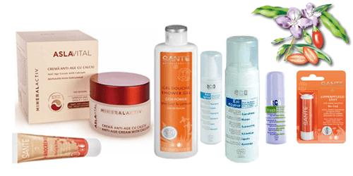 Cosmetice BIO cu extract de Goji