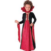 Costum pentru fetite: Vampirita de Halloween