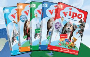 DVD-uri la pret redus cu desene animate Vipo catelusul zburator dublate in limba romana
