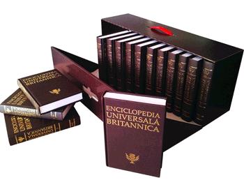 Cele 16 Volume ale Enciclopediei Universale Britannica de la Jurnalul National si Editura Litera