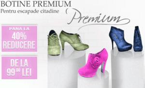 Botine Premium - reduceri si promotii de primavara pentru botine de dama