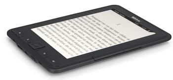 eBook Reader Pyrus E-Ink ca o carte