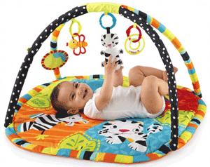 Salteluta interactiva pentru bebelusi