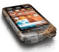 Smartphone s5690 Samsung Galaxy xcover rezistent la apa, praf si socuri