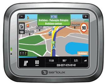 Sistem de navigatie GPS Serioux UrbanPilot Q408