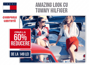Campania de reduceri Tommy Hilfiger - primavara 2013