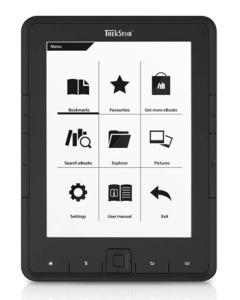 EBook Reader ieftin ca pret asemanator cu cartile clasice.