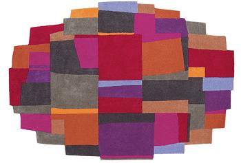 Covoare pentru copii tesute manual din lana