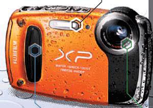 Aparat foto digital rezistenta la socuri, cazaturi, apa si praf Fuji Finepix XP50