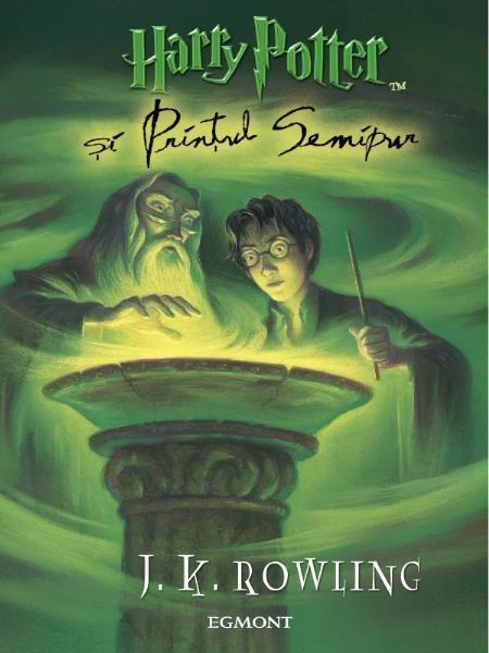 Volumul 6 din seria de carti Harry Potter - Printul Semipur