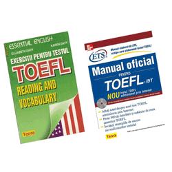 Manual oficial si exercitii test limba engleza Toefl