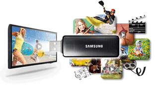 Conecteaza Televizorul Samsung la Stickuri USB sau hard diskuri externe