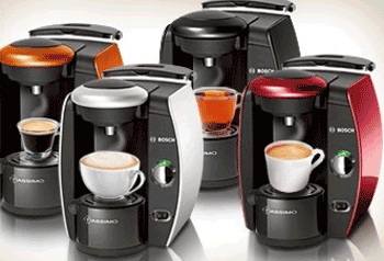 Espressoare inteligente automate Bosch Tassimo