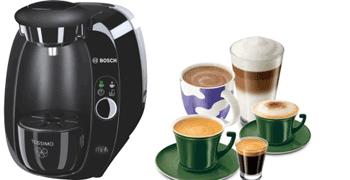 Espressorul de cafea Bosch Tassimo 2002 EE un espressor bun si ieftin