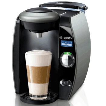 Espressorul de cafea T 6515 EE de la Bosch. Un espressor inteligent automat.